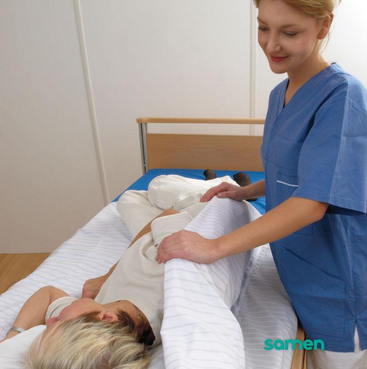 Makkelijker draaien in bed met een Wendylett laken - Samen Praktijk voor Ergotherapie