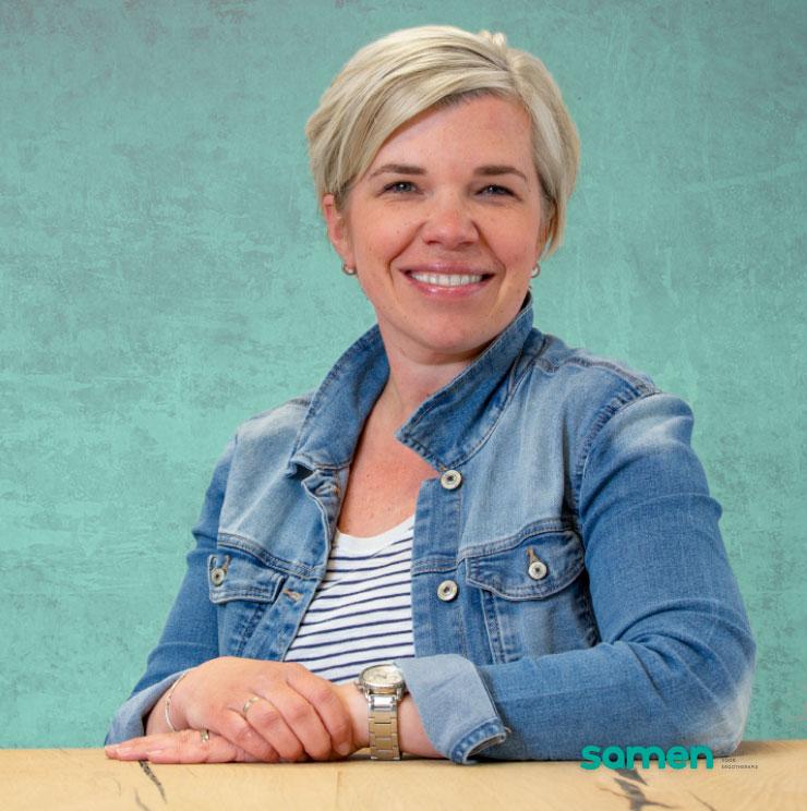 Irene Verdouw Ergotherapeut / mede eigenaar bij Samen praktijk voor Ergotherapie Bollenstreek en regio